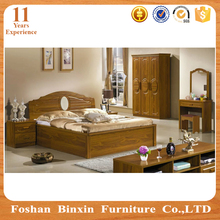 Wedding arabia style wooden home master bedroom furniture designs