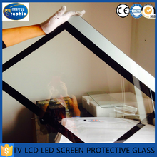 Separation lcd tv replacement touch screen protector glass