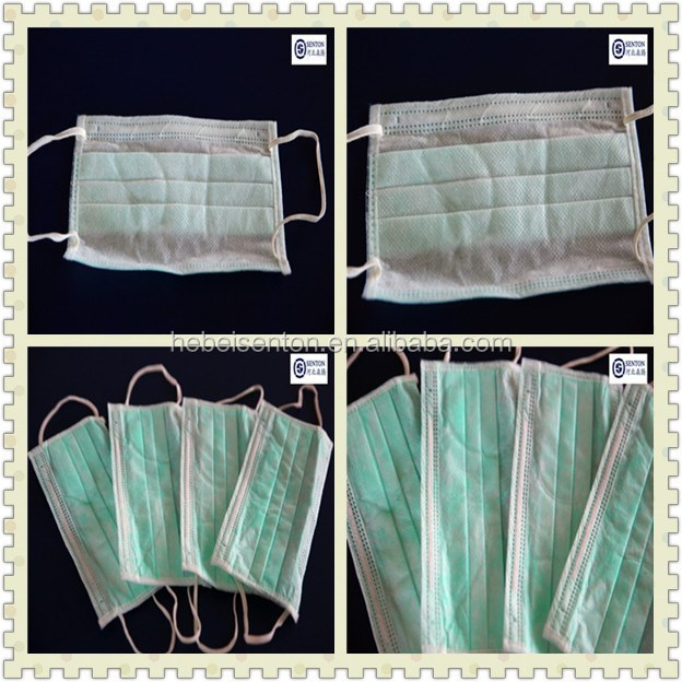 disposable nonwoven printed surgical mask with nice style