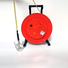 ESMWL-30m Portable steel ruler well depth water <strong>level</strong> meter