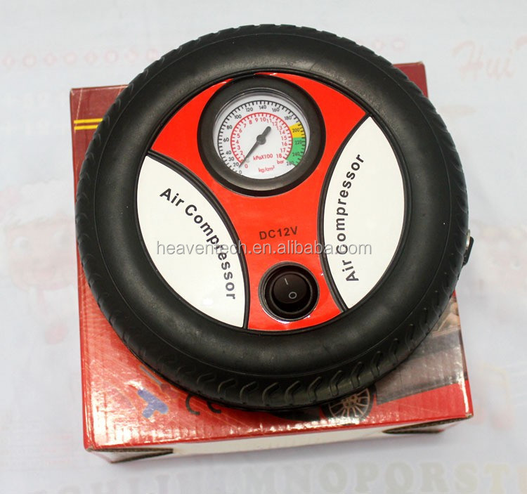 Portable Electric Mini Tire Inflator mini Compressor 12V Auto Air Compressor Pump Car Tyre Tire Inflator