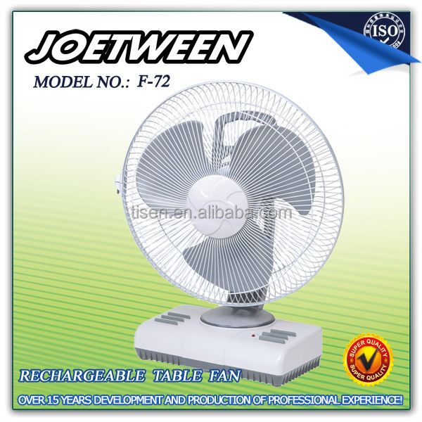 National electric rechargeable table fan F72