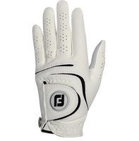 Footjoy Weathersof 2016 Golf Glove White (Women's, LEFT) Leather Sports gloves