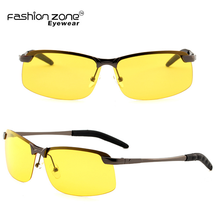Men Polarized Night driving glasses yellow lens sunglasses glasses night vision