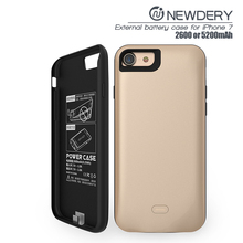 Hot selling new mobile phone case 5200 mAh Battery Case Mobile power bank case for iphone 7