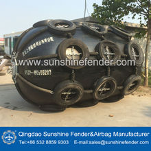 Sunshine high quality marine balloon boat rubber fender for ship,boat,with OEM service