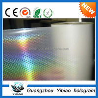 Transparent hologram hot stamping foils