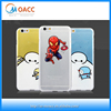 Ultra Thin cartoon printing tpu case for iphone 6s,high transparent mobile cover print for iphone 6s