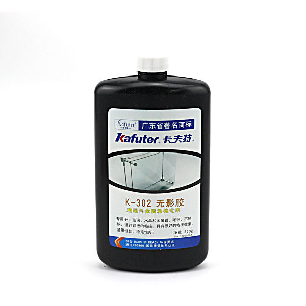 Manufacturer Sources Organic Acid Kafuter K-302 Arylic Glue