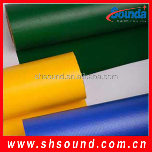 pvc tarpaulin stocklot fabric in china