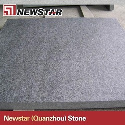 G684 Granite Flamed+Brushed Tile