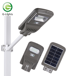 China direct sales 5000 8000 lumens ip65 20w 40w 60w 80w all in one solar led street light