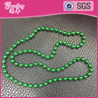 latest design beads chain mardi gras beads necklace