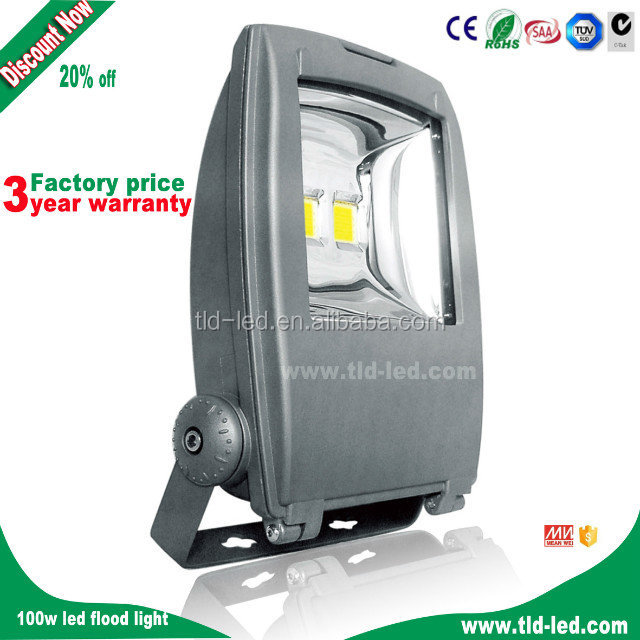 china 120watt led flood light outdoor with mean well driver aluminium boats for fishing
