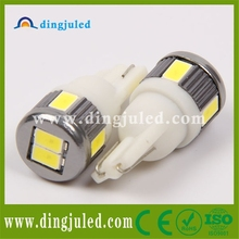 Popular t10 5w5 car led auto bulb side marker lamp 24v 12v led indicator lights