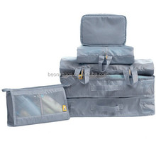 New products 2015 fancy OEM & custom clear plastic zippered storage bag
