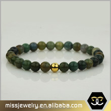 22k gold round bead tiger eye stone bracelets jewelry design for girls, stone bead bracelet