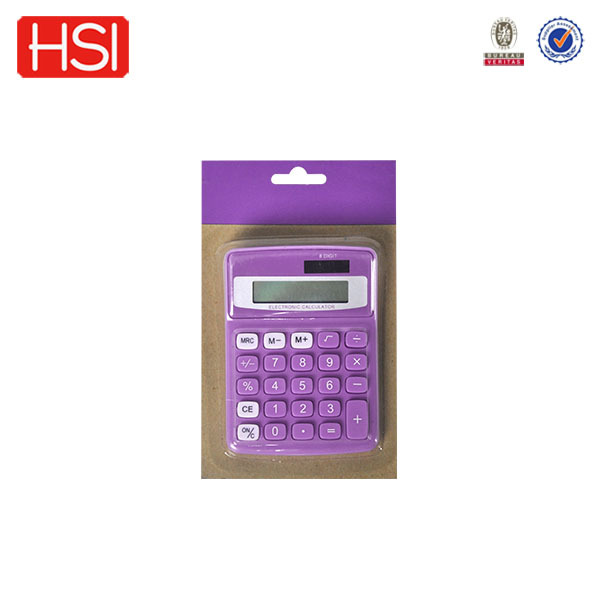 office supply promotional business lighted keys calculator