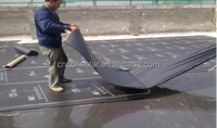 Self Adhesive Bitumen Roll On Waterproofing Membrane with Polyester