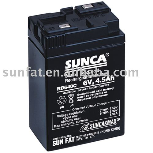 (RB640C)Rechargeable Lead Acid Battery