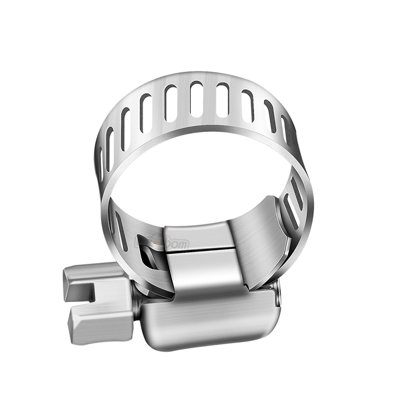 Hose Clamp Stainless Steel Clamps Worm-Gear Hose Clamp, Tube  6-12mm Spring Clip