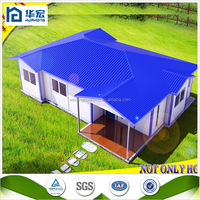 Seismic resistance fast assembling low cost prefabricated houses and villas containers