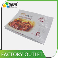 New product Manufacture price n custom beef jerky bag/side gusset bag/side gusset plastic bag