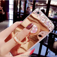 Hot selling Cloth wood mobile phone case for iphone 5 SE 6 6plus S4 S5 S6 note 3 note 4 creative phone case for iphone 7 7 plus
