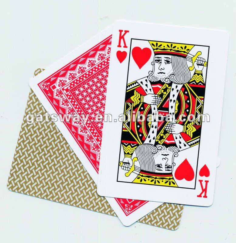 High Quality Plastic Playing Cards