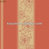 big flower special design waterproof vinyl wallpaper