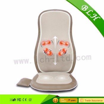 BLH Physiotherapy Shiatsu Rolling Massaging Chair Cushion back massager for health care Hot In Korea