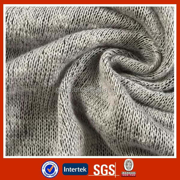 Hi international/Polyester/rayon blended budkin hacci fabric