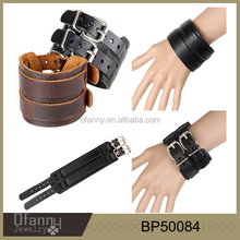 fashion jewelry 2016 latest design mens bio magnetic leather bracelet ,charm bracelet , paracord bracelet