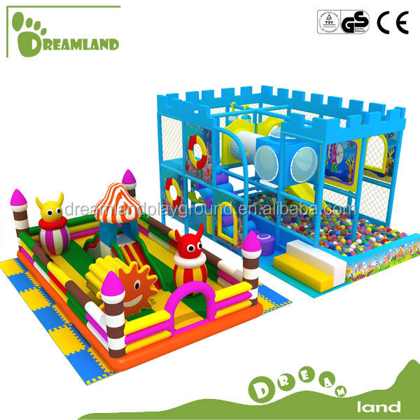 CE approval children commercial indoor inflatable playground equipment