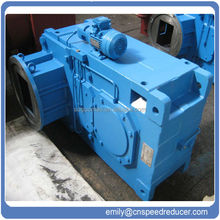 China Guomao PV series crane industry transmission GEAR UNIT supplier of lightweight Aluminium right angle Helical bevel gearbox