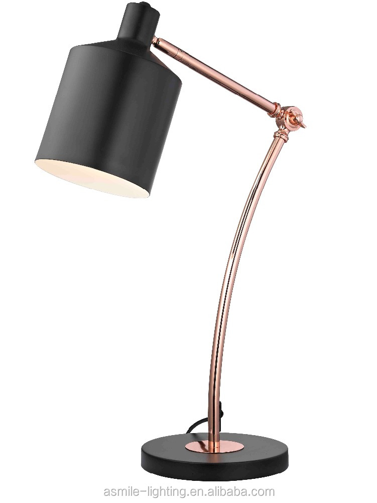 Fancy Table Lamp Modern Hotel Table Lamp, Metal Table Lamp with Power Coating Plated