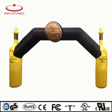 OEM SERVICE Best price sport arch, inflatable arch for race event