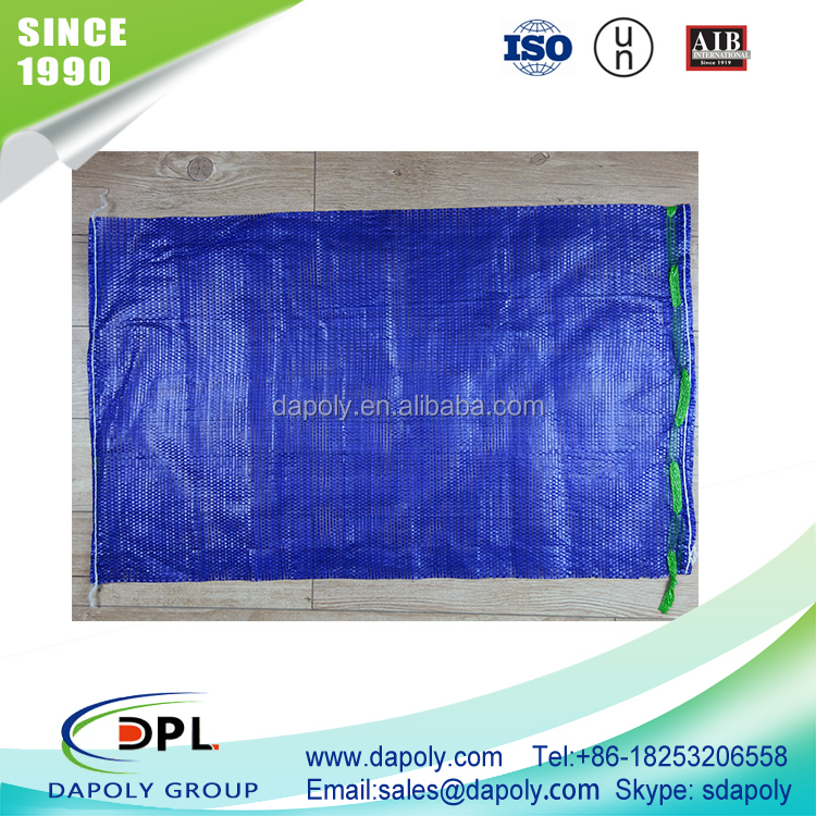 shandong qingdao good factory vegetable onion potato fruite packaging bra washing mesh bag