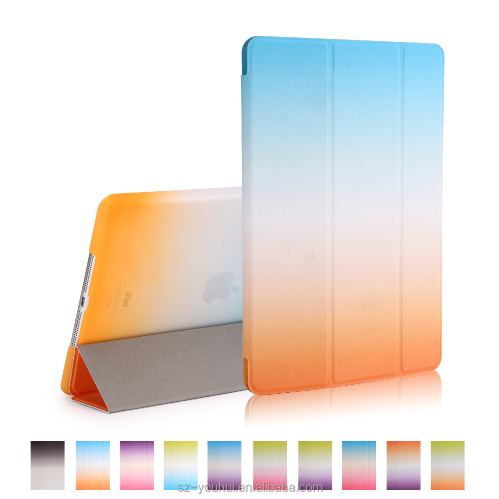 Wholesale Cover for iPad Air for iPad 5 PU Leather Smart Magnetic Case