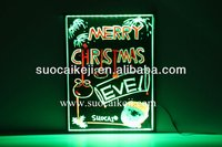 New! High Quality Sparkle Neon Led Writing Board