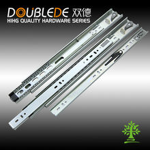42mm Full extension Three-fold conceal drawer slide with soft closing