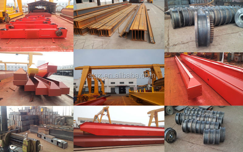 Single Girder Overhead Crane LD 20T Bridge Crane, EOT Crane