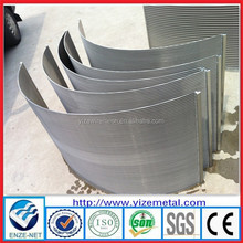 alibaba china supplier slot wire water well wedge wire screen