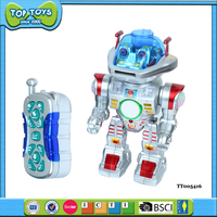 rc robot plastic wholesale toy robot with light music kid robot