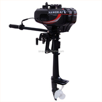 3.5hp 2 stroke jet drive outboard motor fishing boat outboard engine china