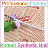 Angled Eyebrow Brush Eyeliner Brush with Synthetic Hair and Pearl White Handle