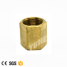 Dependable performance brass coupling brake line fittings