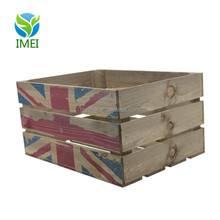 antique cheap wooden wine crates for storage YM07105