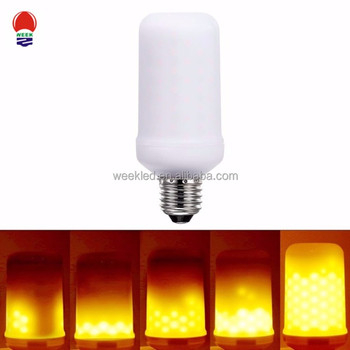 5w E27 Rechargeable artificial LED Flickering light Outdoor landscape led Flame lights