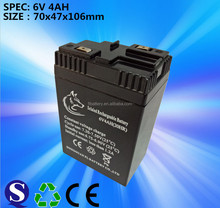 6v fm Rechargeable Lead Acid battery for electronic scale